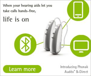 Phonak Audeo Direct Bluetooth hearing aids